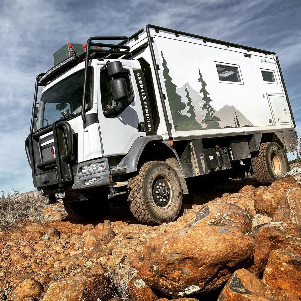 Global Expedition vehicles taking RVing to a new extreme.