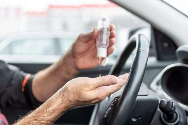 Hand sanitizer will not explode in hot cars.