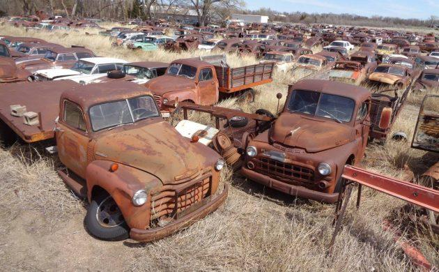 A car junkyard in Kansas full or relicas is listed in Craigslist and eBay.com.