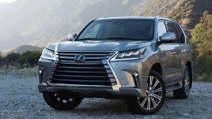 2020 Lexus LX 570: pricey rugged luxury 1