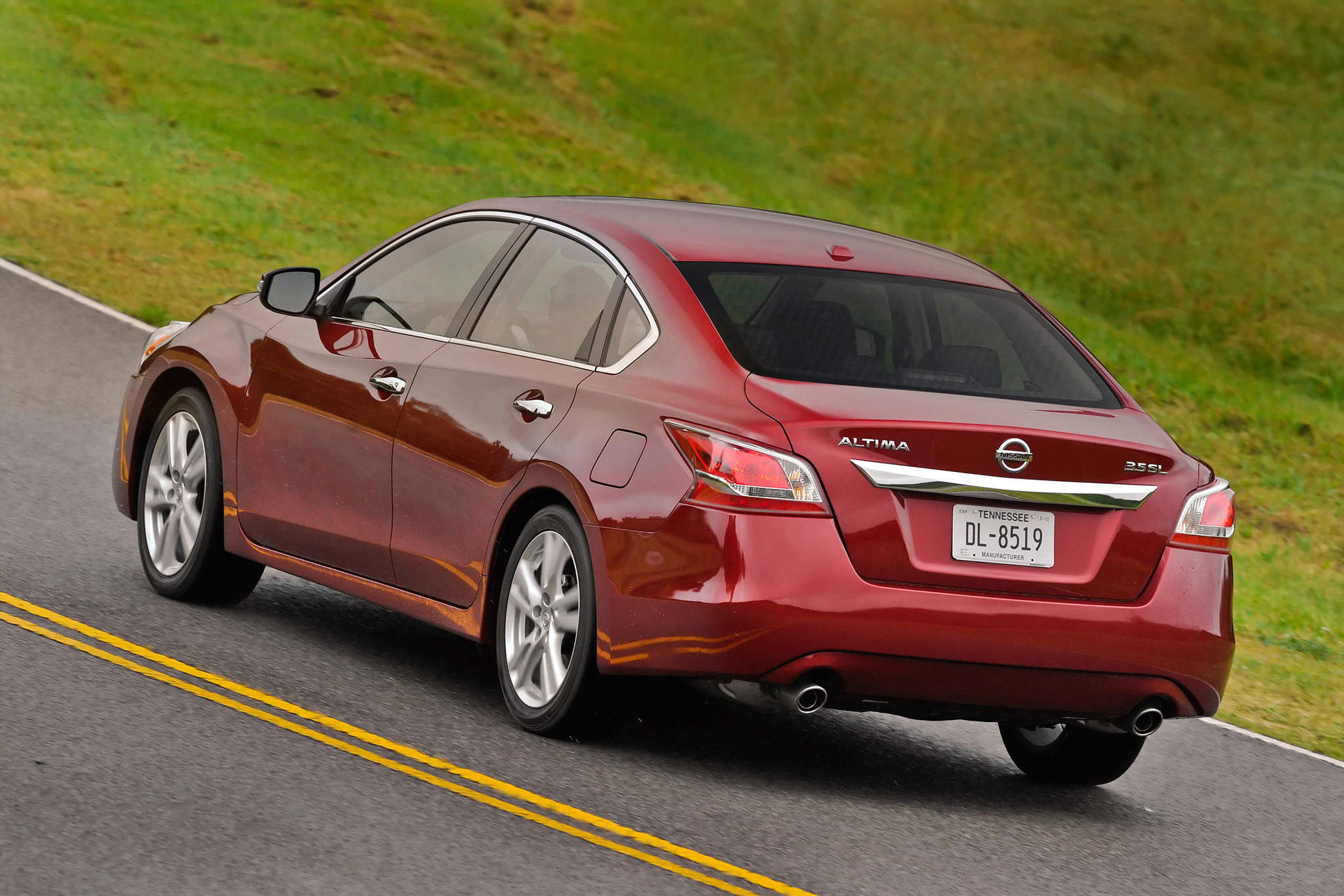 The Nissan Altima has been recalle four times in recent years.