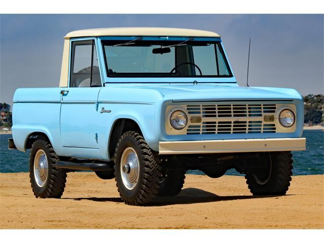 The Ford Bronco debuted in 1966 and the 2021 was unveild July 13, 2021.
