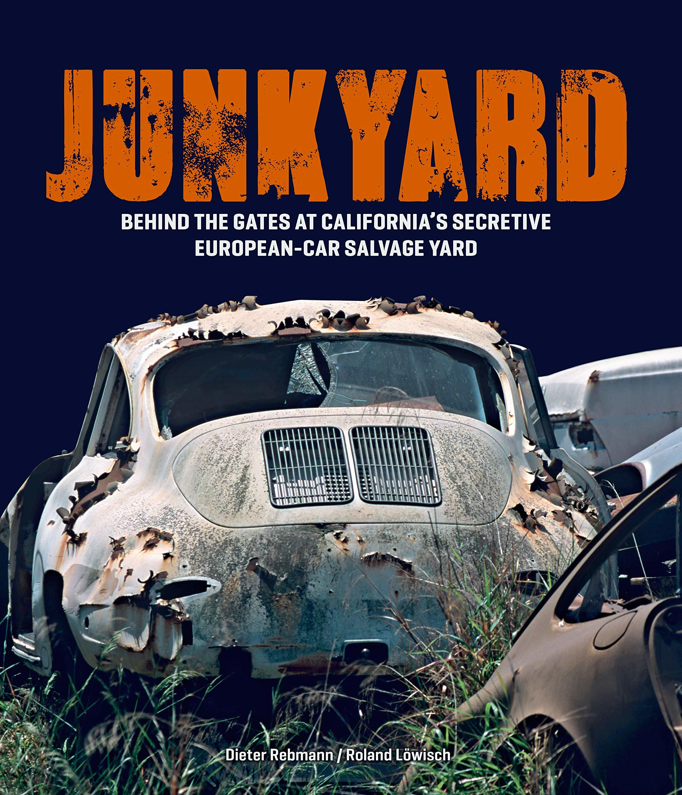 Junkyard: New book details LA collector's car history.