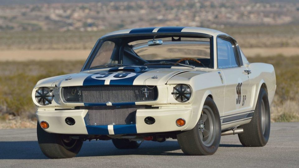 This 1965 Ford Mustang sold recently for a record $3.85 million at Mecum Auctions in Indianapolis.