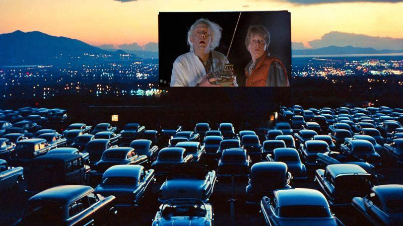 Visiting a drive-in movie theater is a good option during the coronavirus.