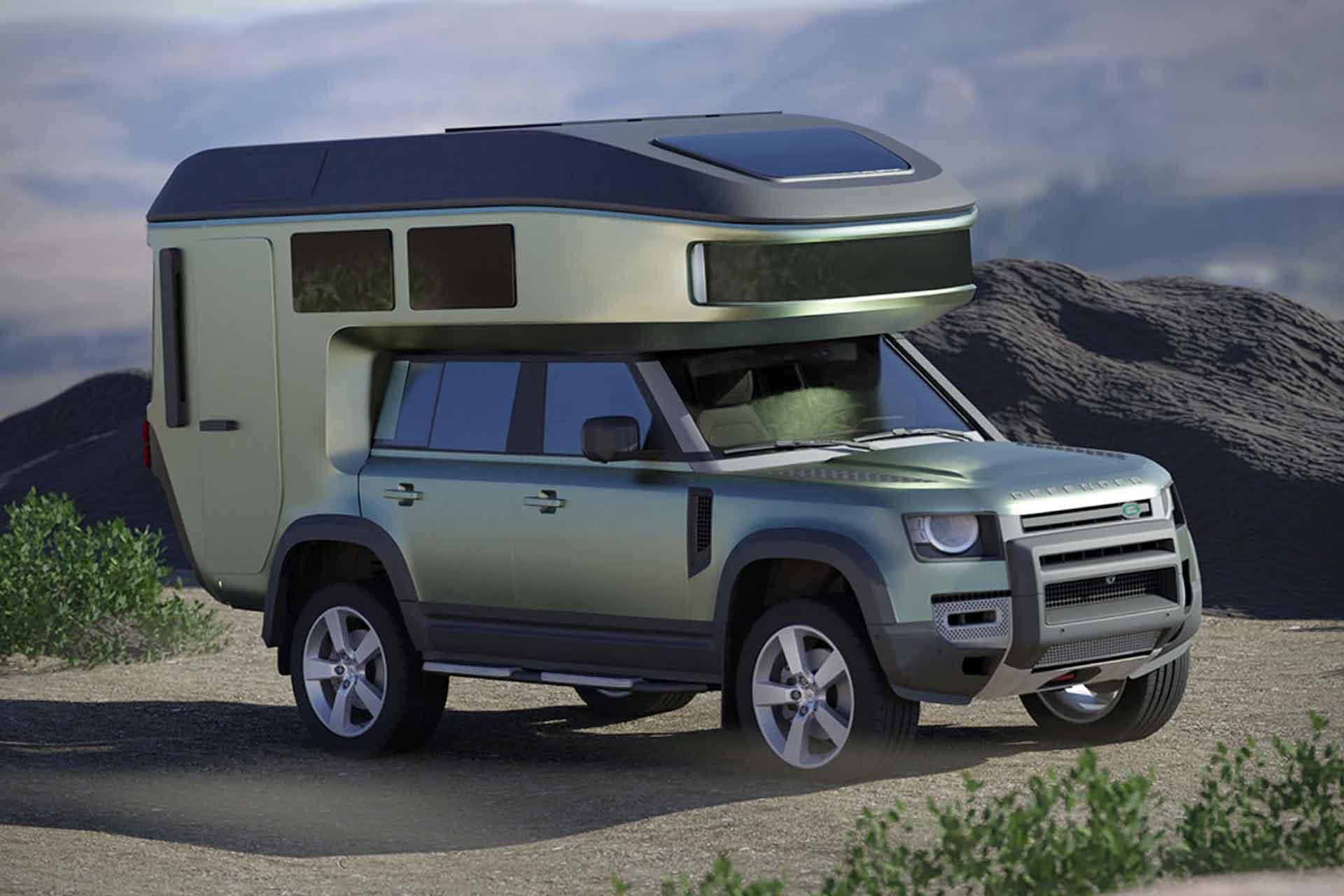 Gehocab is now making SUV's into off-road mini-RVs.