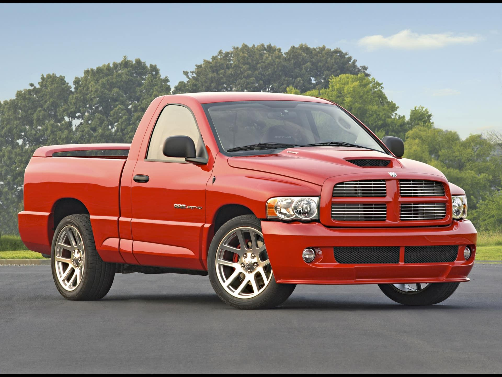 The Dodge Ram SRT 10 from 2004-2006 is the most powerful truck on the road