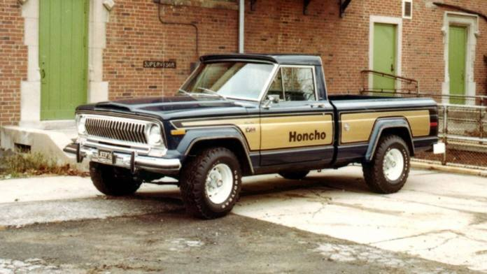 The Jeep J10 Honcho was the precursor to the 2020 Gladiator.