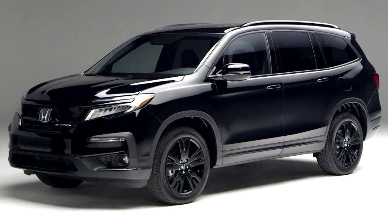 The 2020 Honda Pilot has an expensive Black Edition.