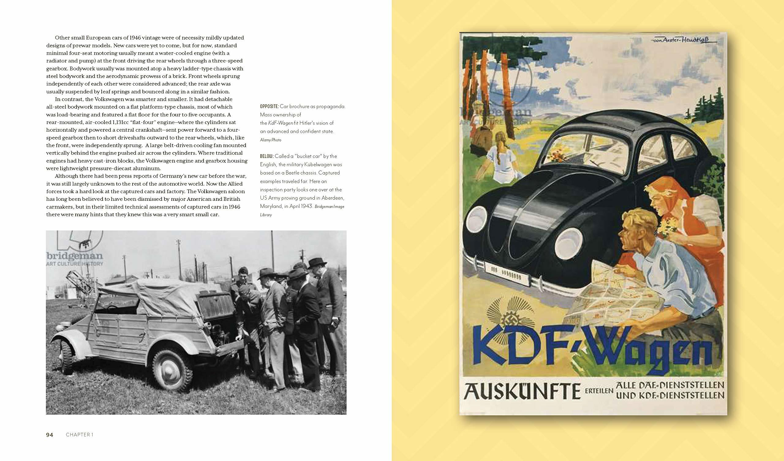 The early days of the VW Bug are discussed in Russell Hayes' new book.