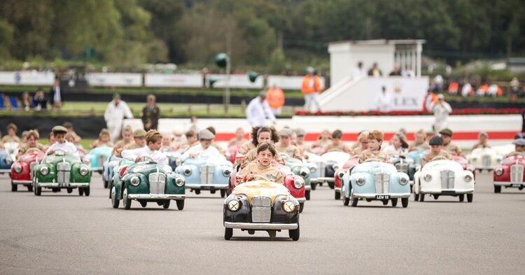 Besides tiny cars, collections of pedal cars, child-sized power cars and toy cars will also be on display.
