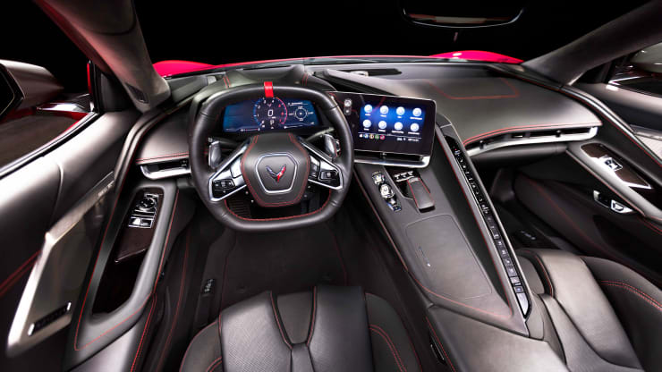 The interior of the 2020 Corvette has been redesigned with several nw innovations.