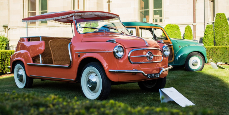 Tiny cars will be display at athe Audrain Museum.