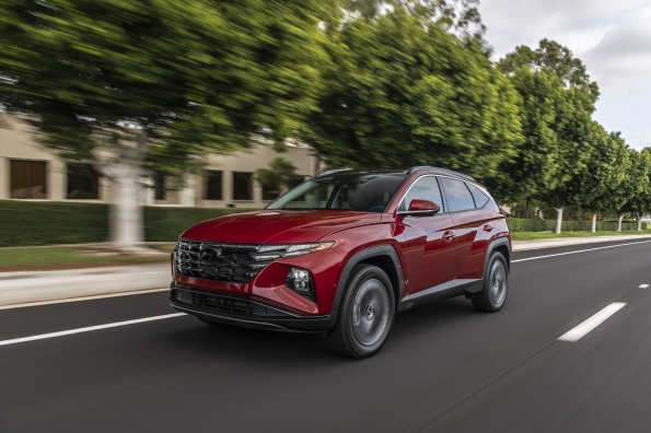 The 2022 Hyundai Tucson will debut in the spring and summer of 2021.