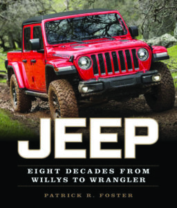 Patrick Foster's new book covers the history of Jeep.