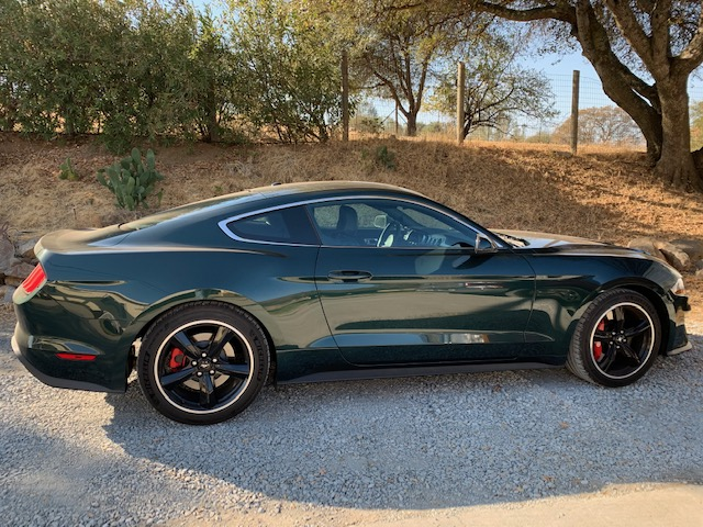 The 2020 Bullitt Mustang channels late actor Steve McQueen.