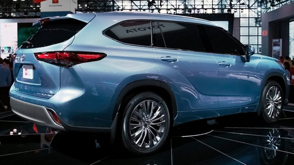 The Toyota Highlander has more cargo space than previous models.