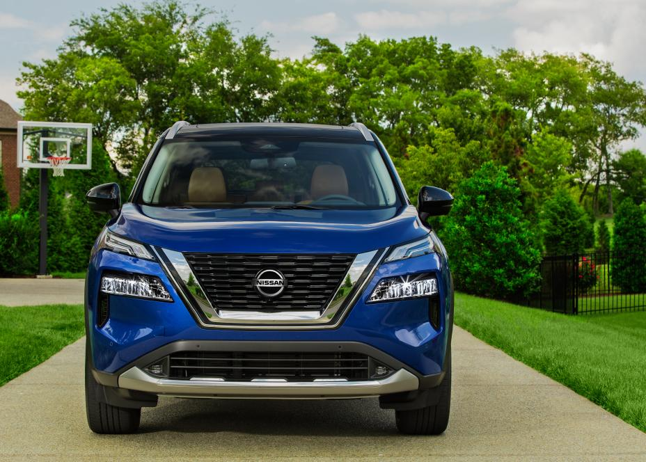 The 2021 Nissan Rogue includes many new features inside and outside.