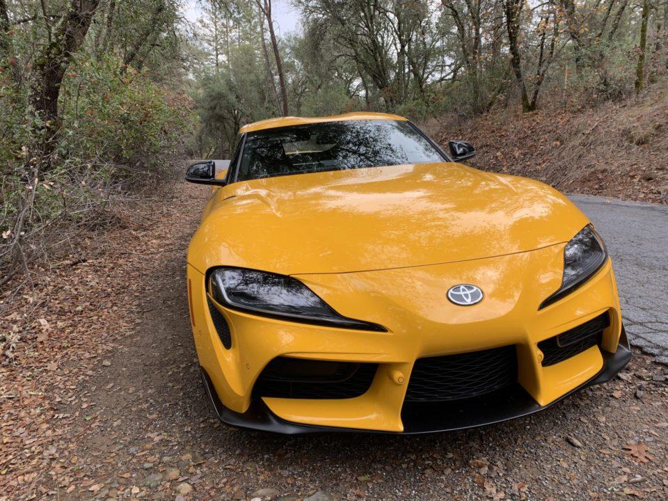 The 2021 Toyota Supra looks like a sports car should look.