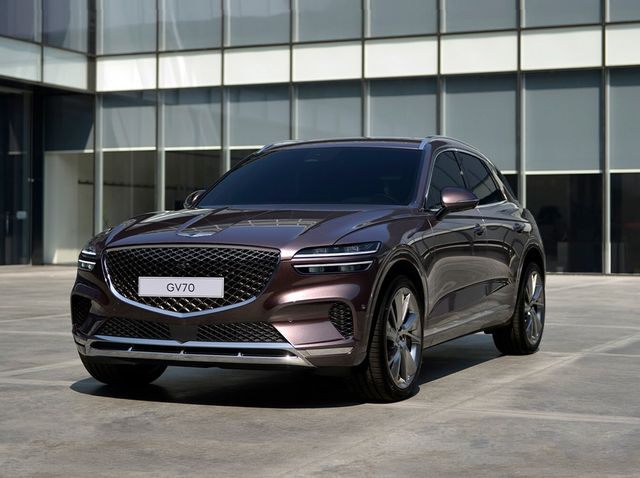 The Genesis GV70 will debut as a 2022 model.