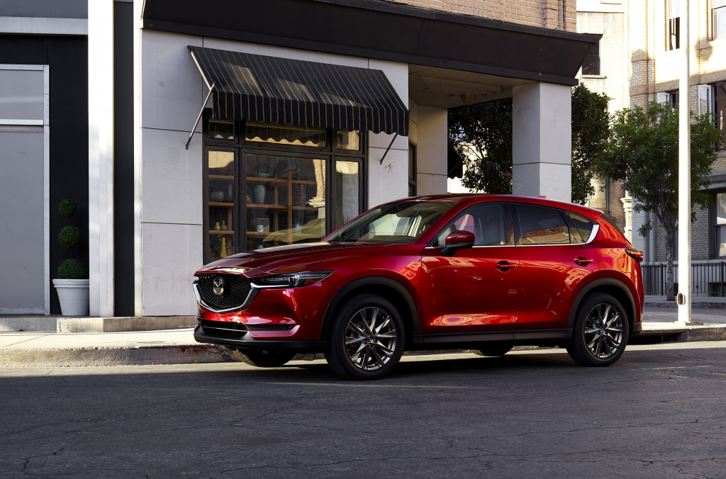 The 2021 Mazda CX-5 has plenty of new features.