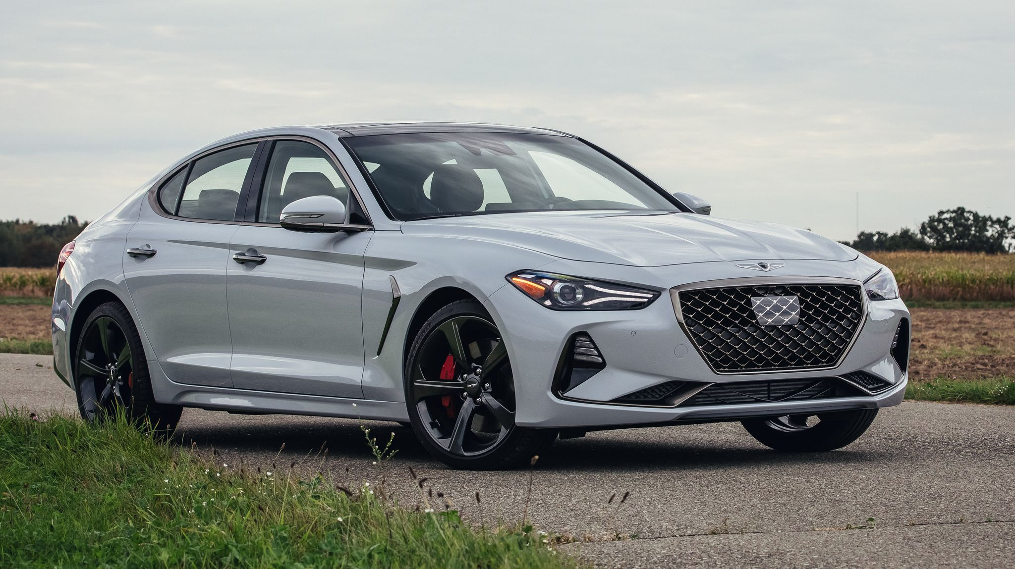 The 2020 Genesis G70 challenges the German luxury sport sedans.