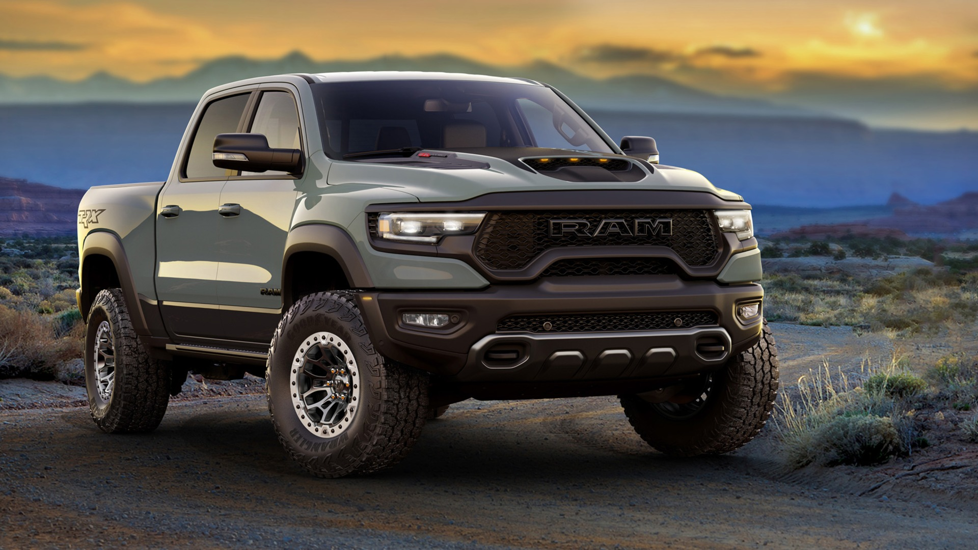 The 2021 Ram 1500 TRX is the most powerful half-ton pickup truck available.
