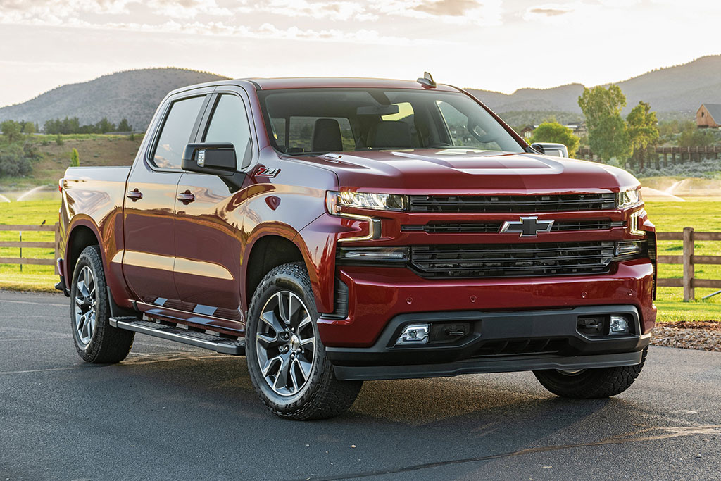 GM recall vehicles include the Chevy Silverado