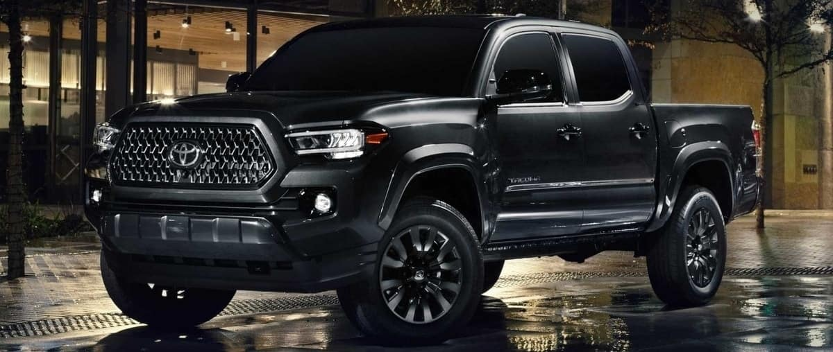 The 2021 Toyota Tacoma Nightshade is a new edgy trim for best-selling midsize pickup truck