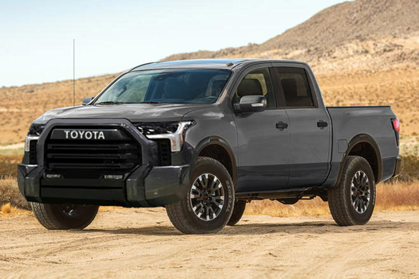 The 2022 Toyota Tundra will be all-new inside and outside.