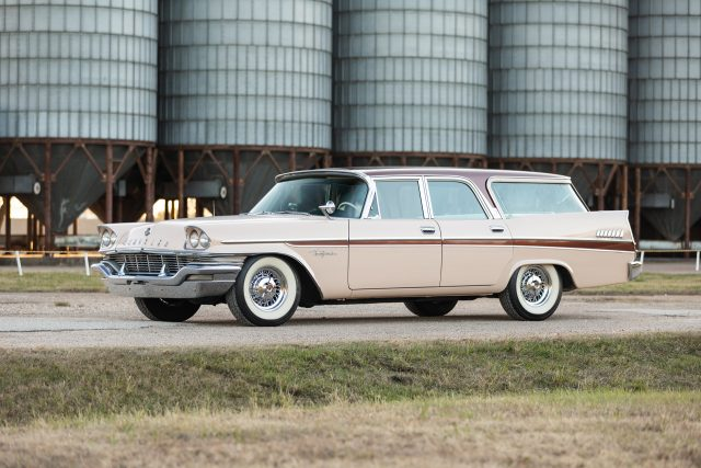 Hagerty reports a 1957 Chrysler New Yorker station wagon helped launch a resurgence is station wago prices.