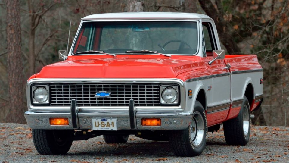Hagerty reports a 1972 Chevrolet C10 CST sold for $88,000 in January.