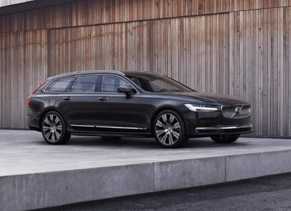 The 2021 Volvo V90 is top-line luxury wagon.
