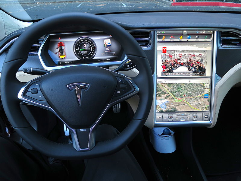 Tesla was at the forefront of self-driving cars.