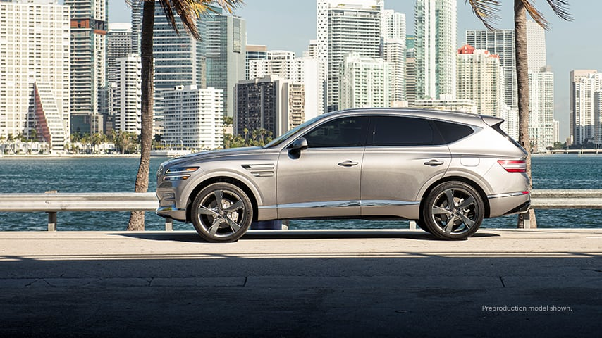 The 2021 Genesis GV80 was the SUV Tiger Woods wrecked in a single-car accident in Southern California.