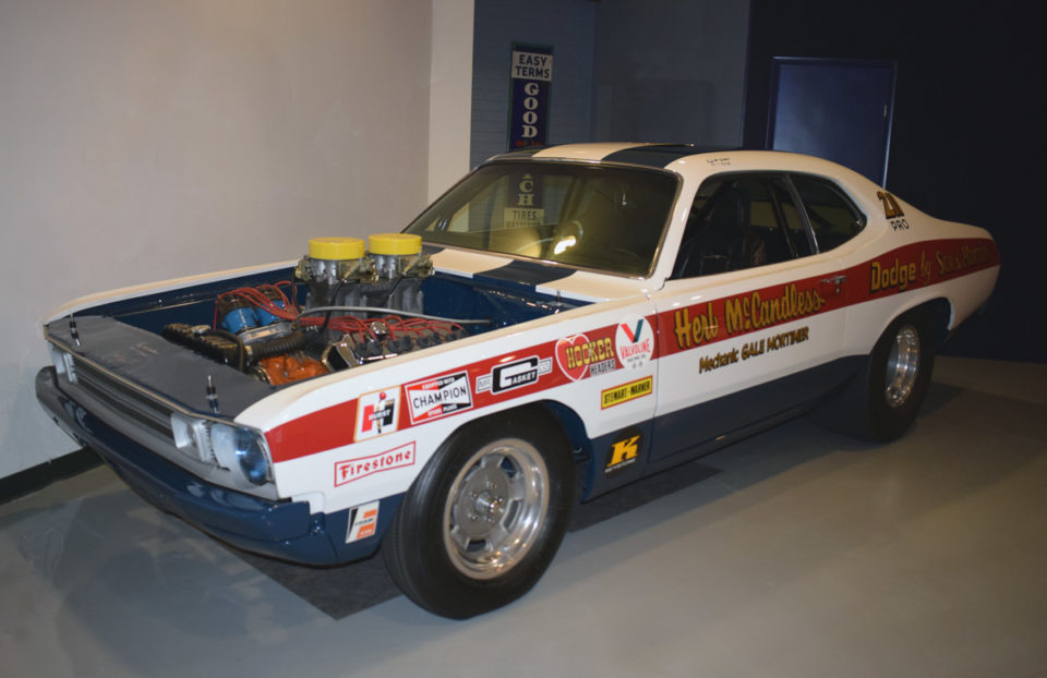 """The auto museum in Hershey, Pennsylvania, is oftne referred to to as the AACA Museum of the Hershey Auto Museum. One of its current exhbits showcase """"Hemis."""""""