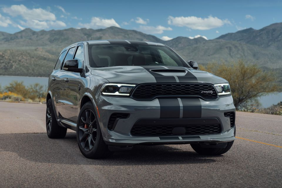A beast of an SUV, the 2021 Dodge Durango Hellcat.