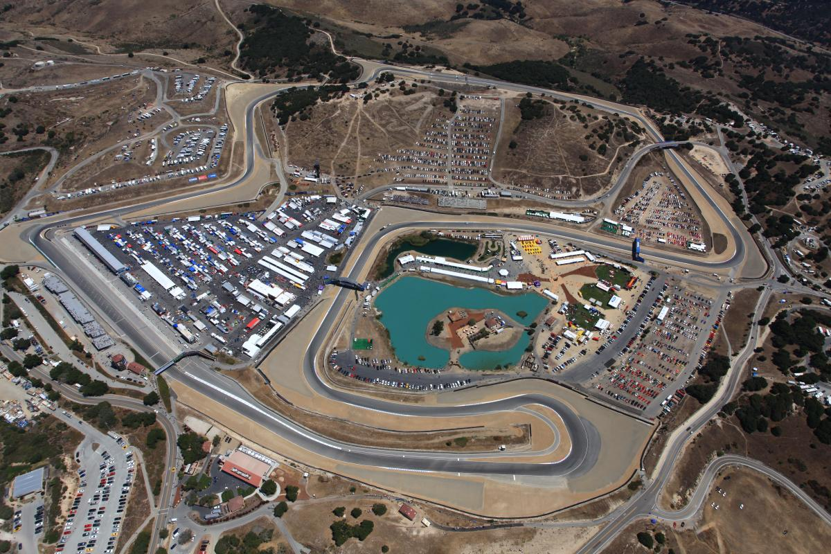 WeatherTech Raceway Laguna Seca has full schedule of racing as well as programs for improving driving skills.