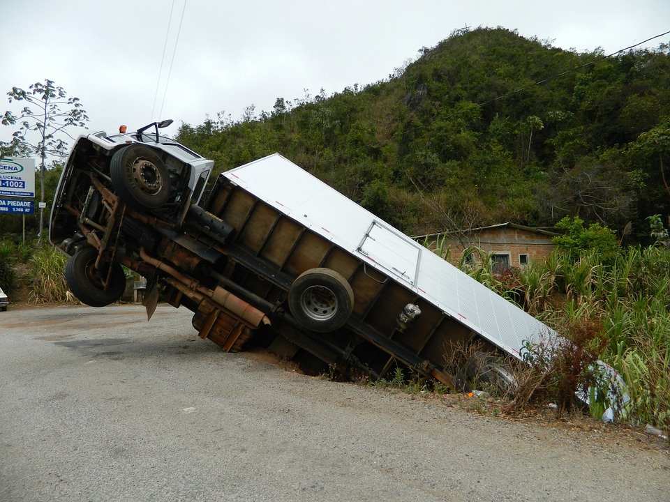 Truck accidents occuring more frequently in some segments of the industry..