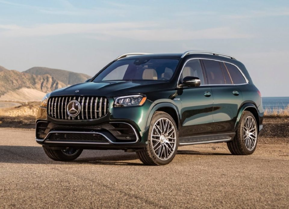 The 2021 Mercedes AMG 63 is a high-performance, opulent sport utility vehicle.
