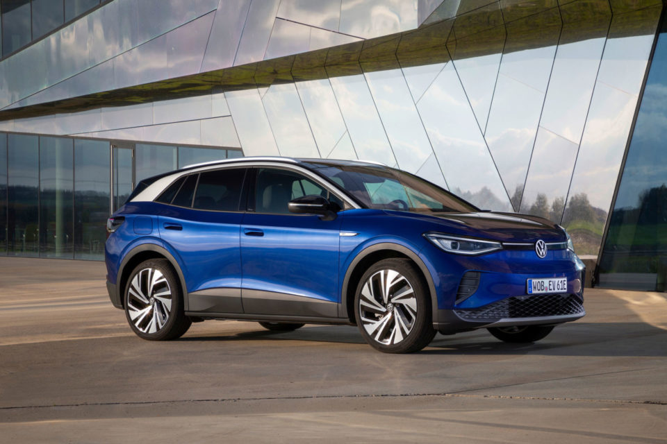 The 2021 Volkswagen ID.4 was introduced during the 2021 LA Auto Show virtual Media Day.