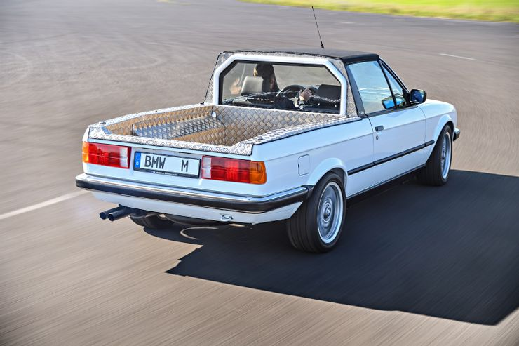 BMW made two pickup trucks, one only as a prototype.