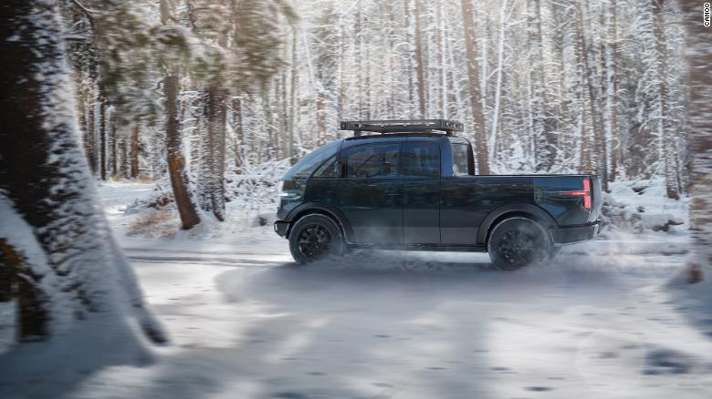 The Canoo is a pending new American-made electric pickup truck scheduled for 2023