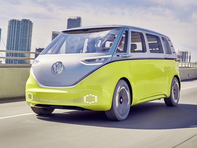 The pending Volkswagen ID Buzz microbus