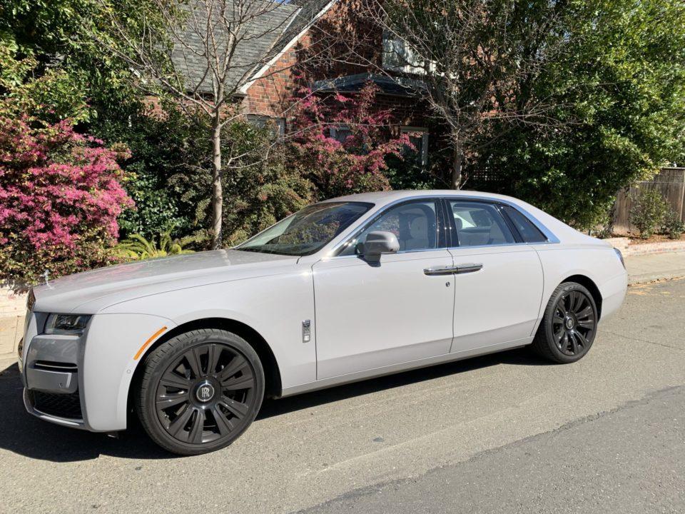 The 2021 Rolls-Royce Ghost is slightly longer than 18 feet.
