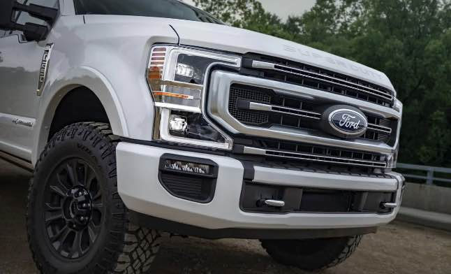 The new lineup of Ford Super Duty Trucks will debut soon.