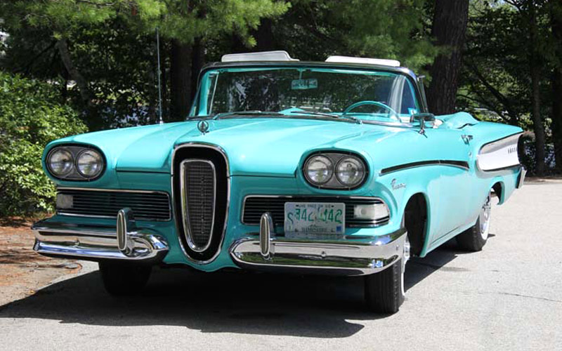1958 Edsel. The car was only made for three years.