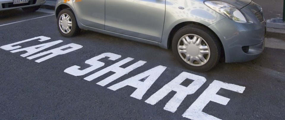 The idea of car-sharing helps car owners save money and it also reduces traffic.