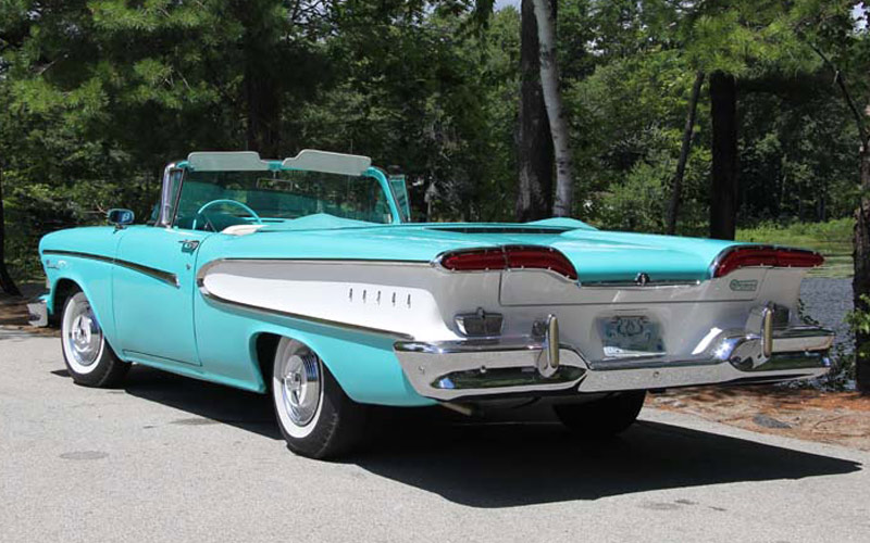 The Edsel, was short-lived has a following among vintage car collectors, includ Scott Gunnari.