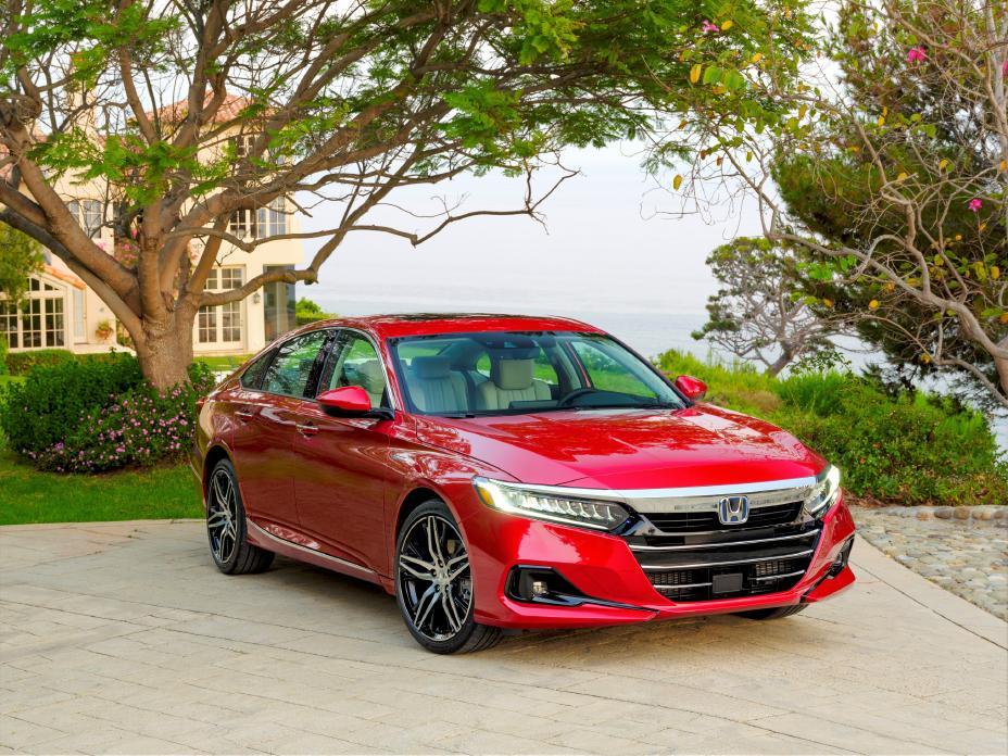 The 2021 Honda Accord Hybrid improves an already iconic sedan.